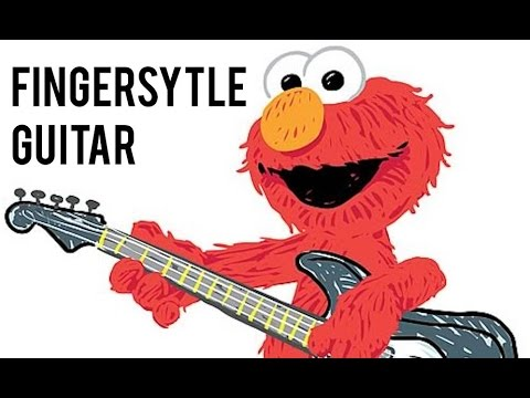 ELMO'S SONG Fingerstyle Guitar