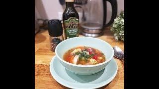 Итальянский куриный суп с фасолью // Очень вкусный!!!