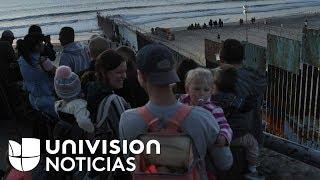 Se agrava la crisis humanitaria en la frontera con la llegada de miles de migrantes centroamericanos
