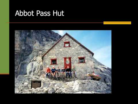 Alpine Club of Canada: Hut Slideshow.