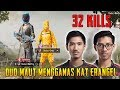 32 Kills!! Duo Maut Mengganas Kat Erangel | Manparang Gameplay | PUBG Mobile Malaysia