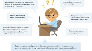 Домашнее обучение 1-11 класс русской школы (русский сайт)