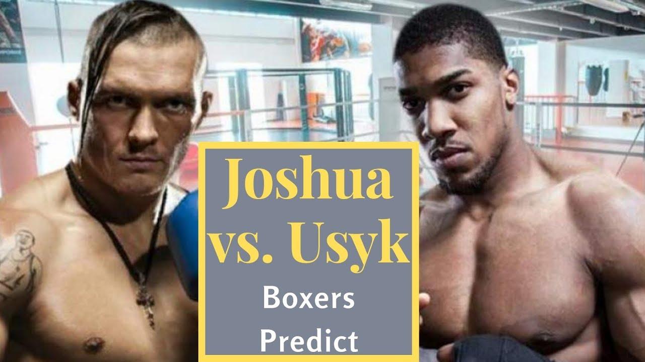 Anthony Joshua vs. Oleksandr Usyk fight predictions, odds, expert ...