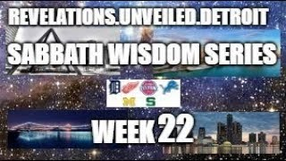 Sabbath Wisdom Series Week-22. 2 Chronicles, Proverbs, Ecclesiasticus, & Psalms.