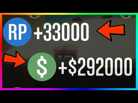 How To Make $292,000 & 33,000 RP EVERY GAME in GTA 5 Online | NEW Best Unlimited Money Guide/Method