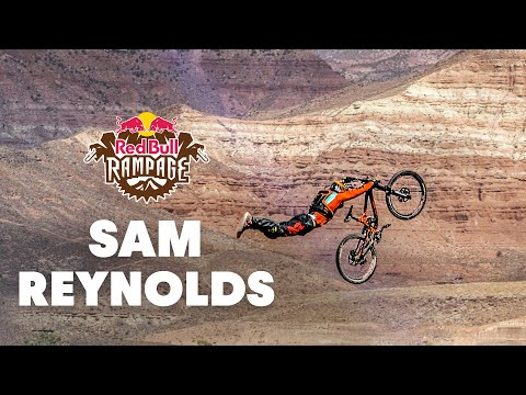 Red Bull Rampage 2015: Best Trick: Sam Reynolds' Canyon Gap Superman