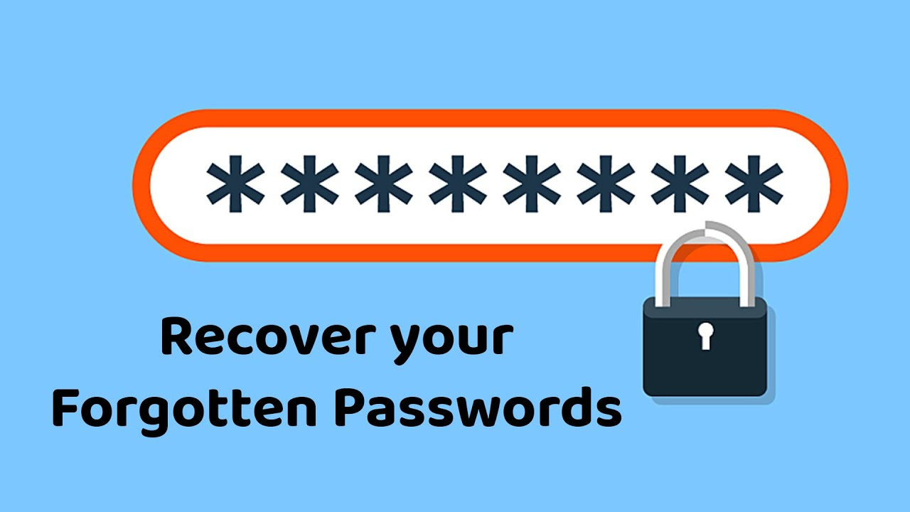 Recover your Forgotten Passwords ✅ #Shorts