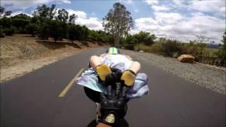 Roadboarding- Adam Persson /Tim Del San Diego Backcountry!!