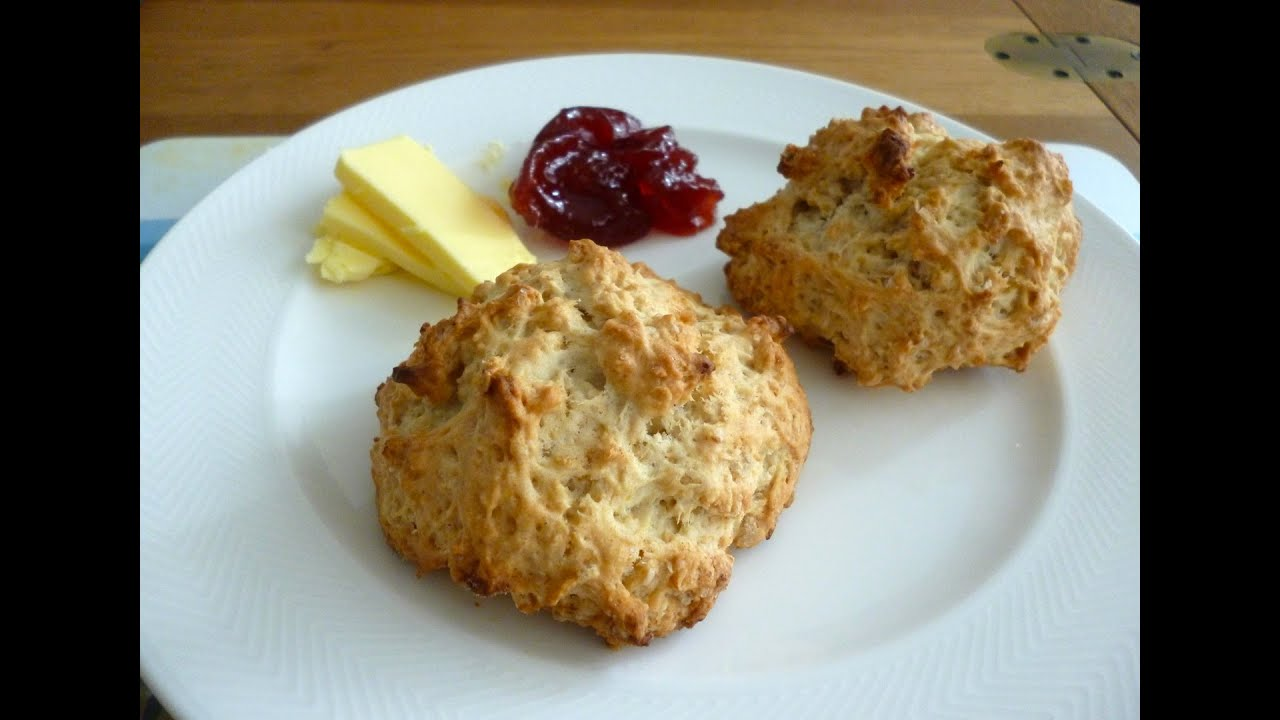 Easy recipes for baking scones without eggs