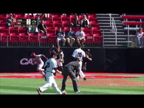 Northeastern Baseball vs Charleston | April 14, 2017 | Game Recap