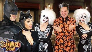 BATMAN vs DAVID S PUMPKINS - hilarious parody!! TheSeanWardShow