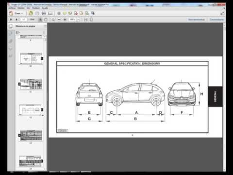 citro n c4 2004 2008 manual de taller service manual manuel rh youtube com citroen c4 picasso workshop manual free citroen c4 service manual