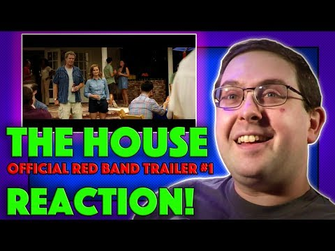 REACTION! The House Red Band Trailer #1 - Will Ferrell Movie 2017