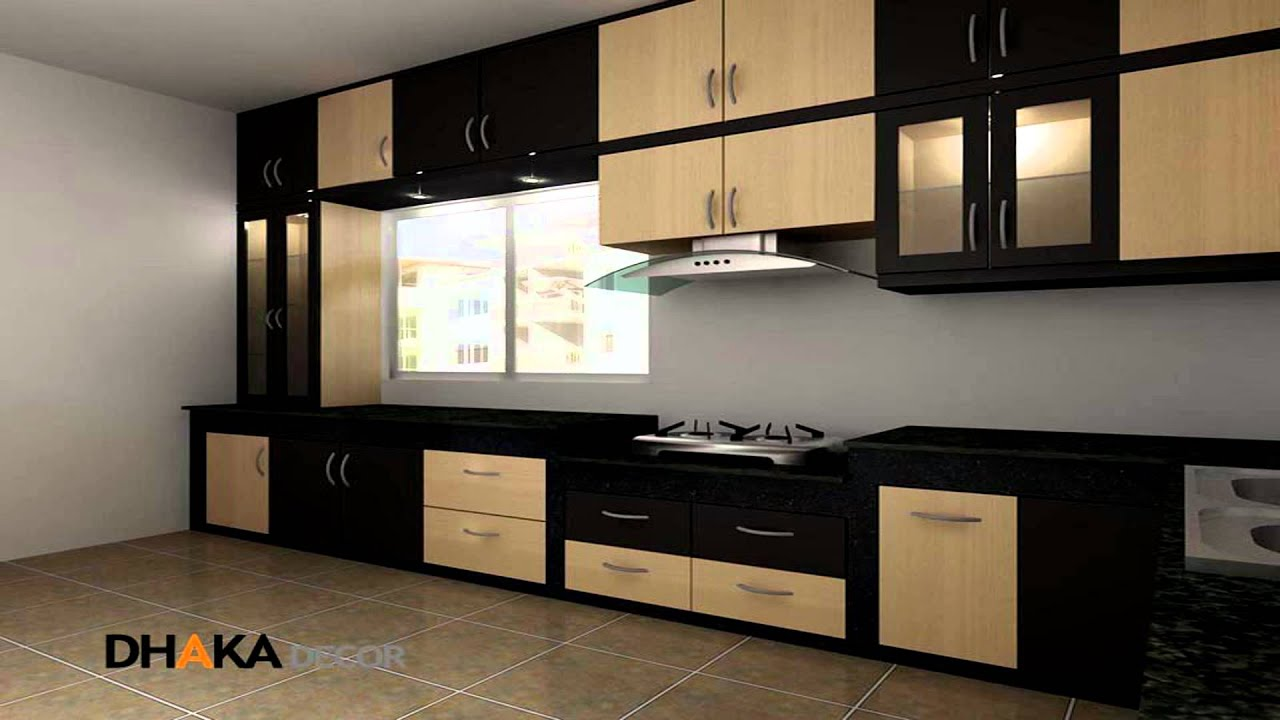 Dhaka decor kitchen interior design decoration in dhaka youtube - Kitchen design in small space decoration ...