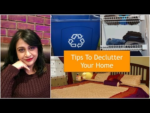 Easy Tips To Declutter Your Home | How to start Decluttering | Simple Living Wise Thinking