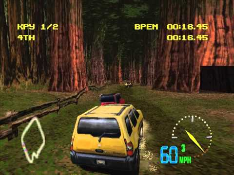 TEST DRIVE OFF ROAD 3 - THIRD DIVISION RACE (XTERRA)