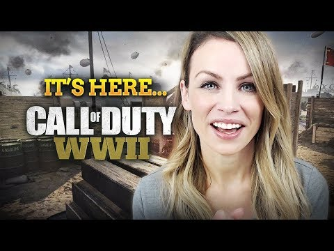 IT'S HERE... COD WWII 😬 | Stats, Headquarters, Multiplayer Gameplay and More!