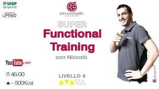 Functional Training - Livello 3 - 11  (Live)