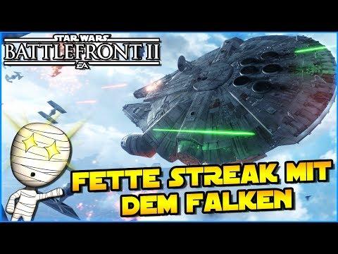 Fette Streak mit dem Falken! - Star Wars Battlefront II #221 - deutsch Tombie Lets Play thumbnail
