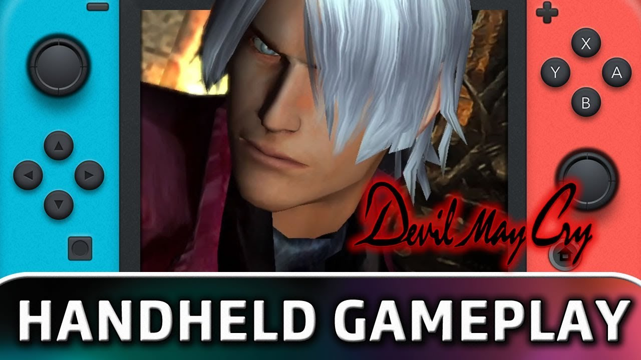 Devil May Cry | First 10 Minutes in Handheld MODE on Nintendo Switch