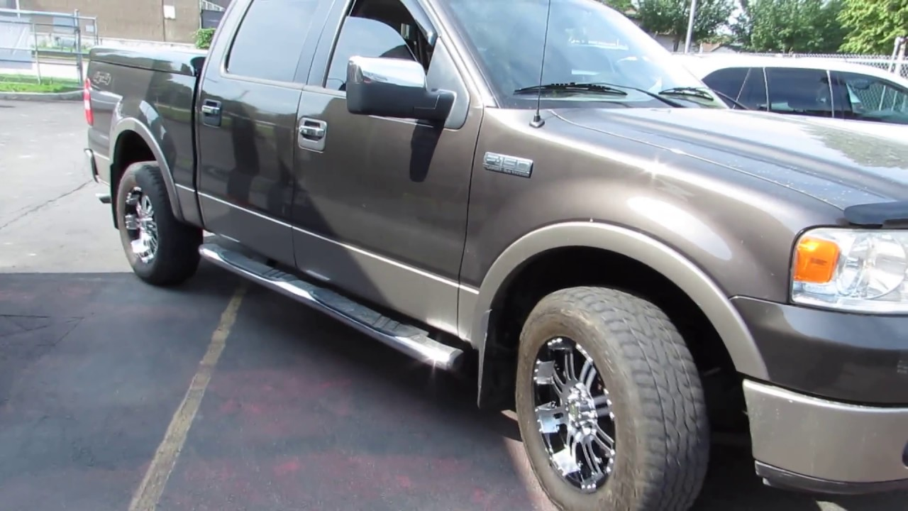 2006 ford f150 with 18 inch off road rims tires