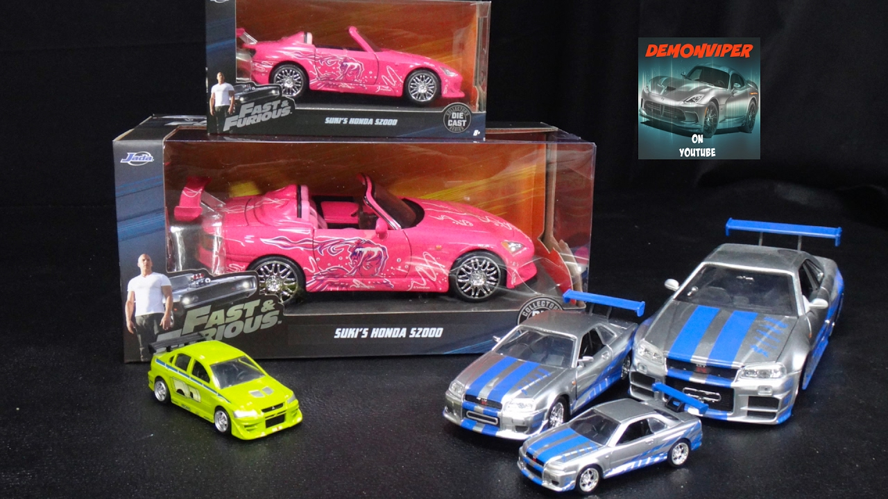 2 Fast Furious Sukis Honda S2000 1 24 And 32 Model Unboxing