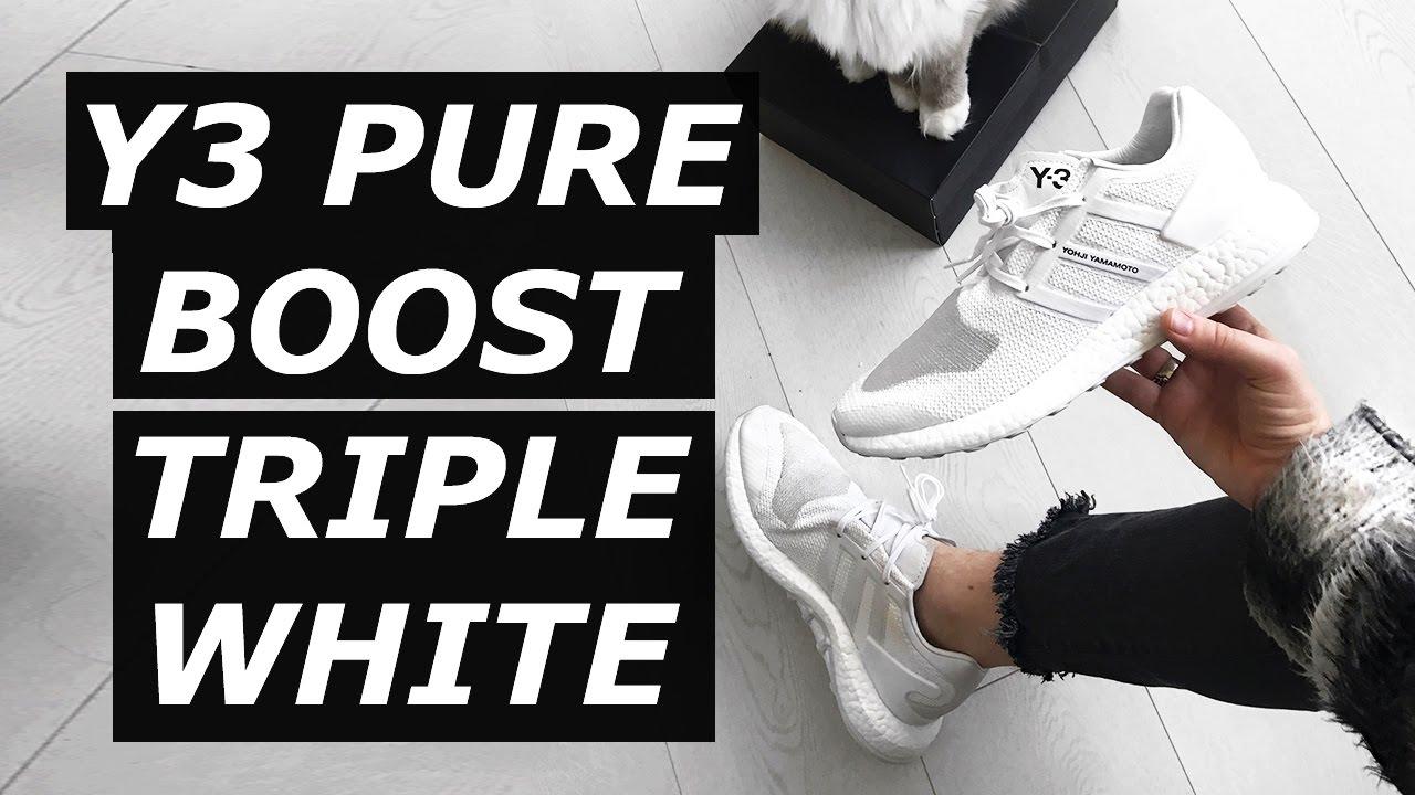 $300 Adidas x Y3 Pure Boost Triple