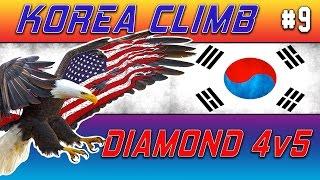 N3ac3y Korea Climb #9 - Diamond 4v5