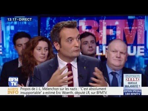 """""""Marine Le Pen est bien seule"""", estime Philippot"""