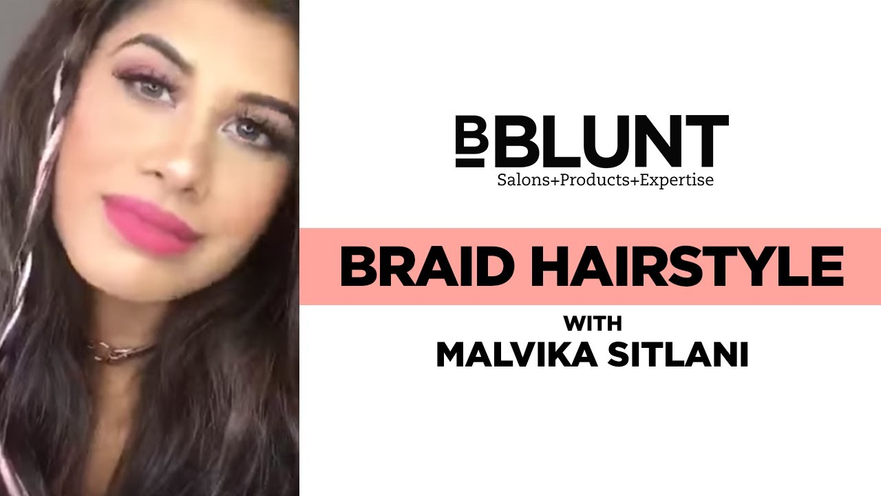 How To Make A Twist And Side Braid Hairstyle With Clip In Hair