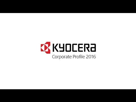 Kyocera Corporate Profile 2016