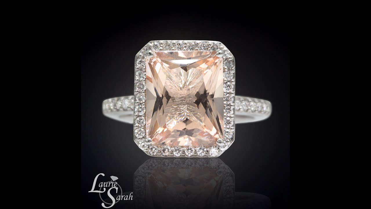 photo il fullxfull rose peach listing engagement rings sapphire gold ring square cut gallery radiant