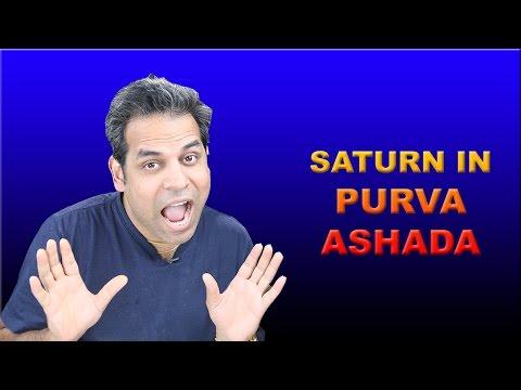 Saturn in Purva Ashada Nakshatra in Vedic Astrology