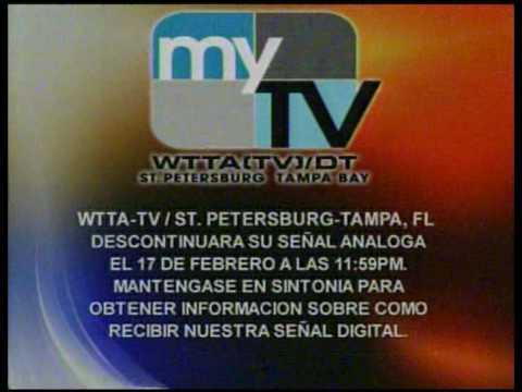 WTTA MYTV 38 Tampa Digital Transition ID
