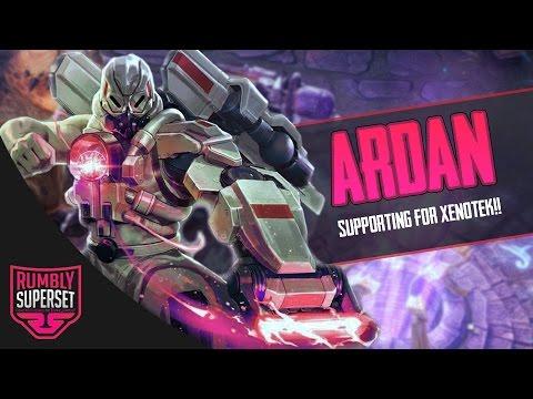 Vainglory - Road to Vainglorious [Gold] - HELLO XENOTEK!! Ardan  Support  Captain Gameplay [2.1]