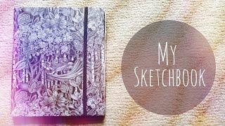 Мой Скетчбук  Артбук Что и чем я рисую