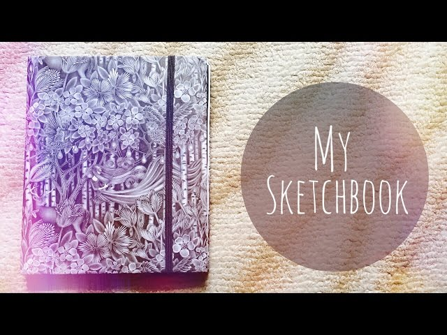 Мой скетчбук и чем я рисую