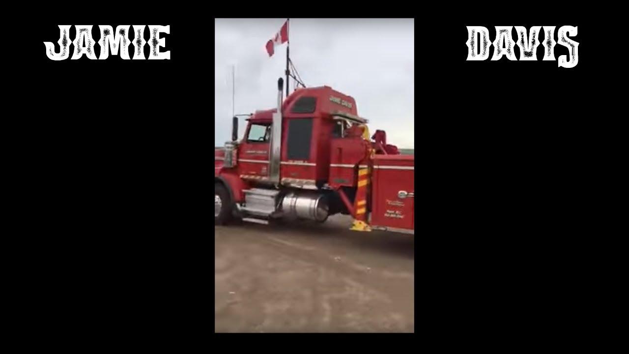 Jamie Davis New Rotator 2020 Jamie Davis's Truck In Swift Current Saskatchewan   YouTube