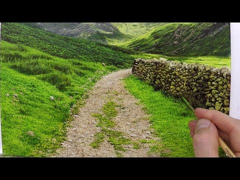 How To Paint A Realistic Landscape   Oil Painting Tutorial