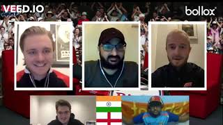 My 5 mins of fame with England cricketer Monty Panesar😇On the Invitation of @England's Barmy Army