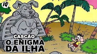 Quadrinhos narrados do Cascão - O enigma da ilha!