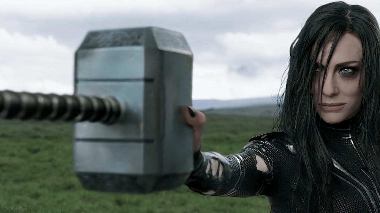 Download Thor vs Hela - First Fight Scene   Thor Ragnarok (2017) Movie CLIP 4k