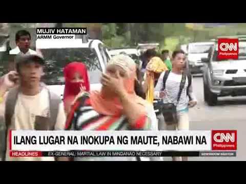 Update sa Sagupaan ng Maute group at Sundalo sa Marawi City gamit ang Martial law