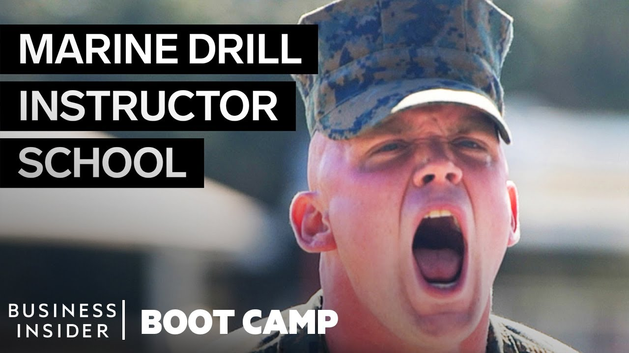 How Marine Corps Drill Instructors Are Trained | Boot Camp