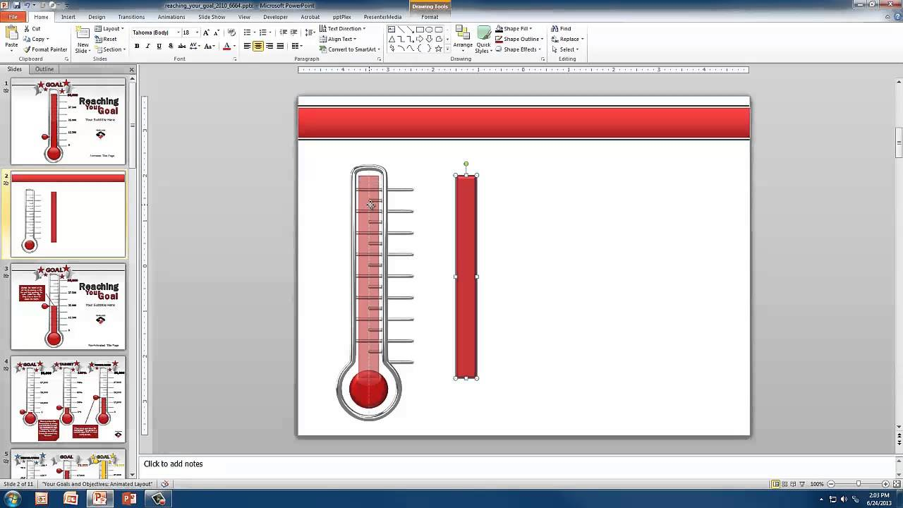 Create A Custom Thermometer