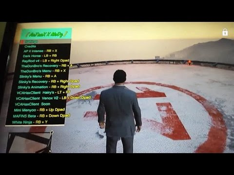Gta 5 100% Offline Mod Menu Xbox 360 No [JATG.RGH] 2017