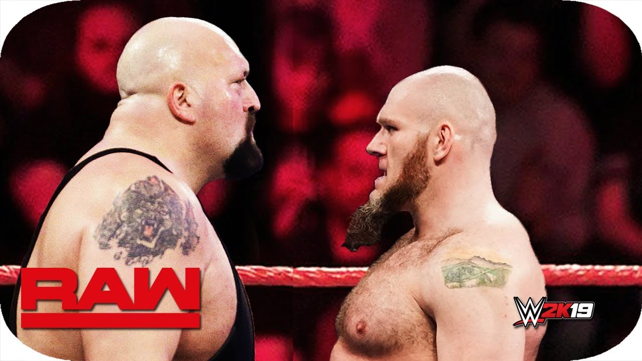 FULL MATCH - Lars Sullivan vs  Big Show : Raw, April 22, 2019 WWE 2K19 -  Ep  24