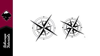 Inkscape tutorial: Create a Compass