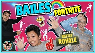 FORTNITE BAILES IN REAL LIFE ? FAMILY CHALLENGE ? NeNo Family Vlogs