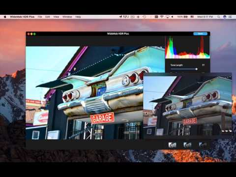WidsMob HDR Video Tutorial - How to Use WidsMob HDR to Merge Bracketed Images
